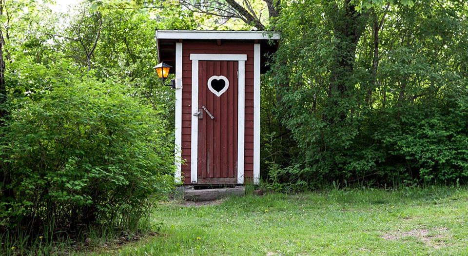 Туалет на основе выгребной ямы